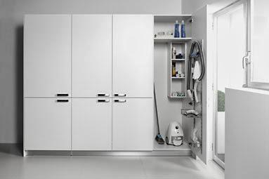 Ventajas de la cocina y lavadero como zonas separadas for Mobiliario lavadero