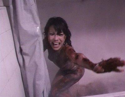 The girl who loves horror february 2012 for Horror movie bathroom scene