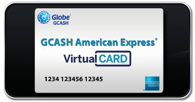 GCASH American Express Virtual Card