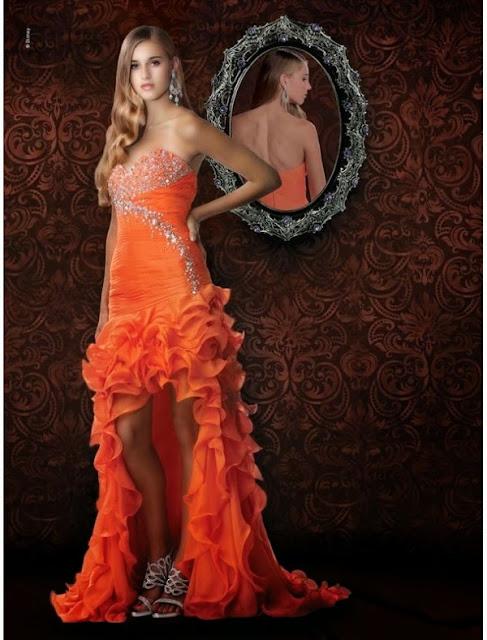 hi-lo prom dress
