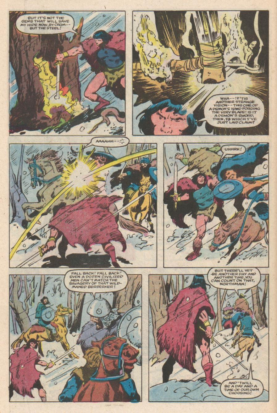 Conan the Barbarian (1970) Issue #169 #181 - English 5