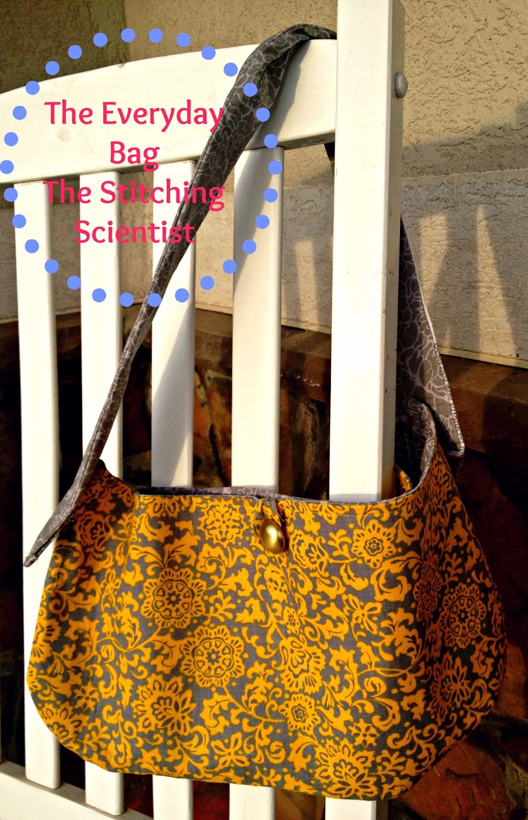 The Everyday Bag with Free Pattern   The Stitching Scientist