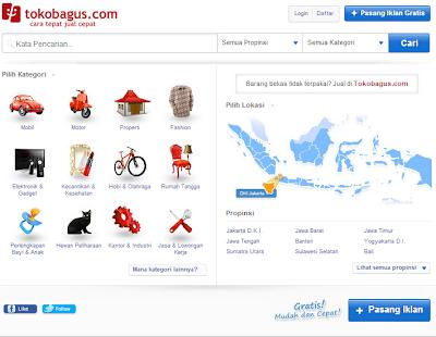 Toko Online Terbaik dan Terbesar Indonesia - Tokokbagus.com