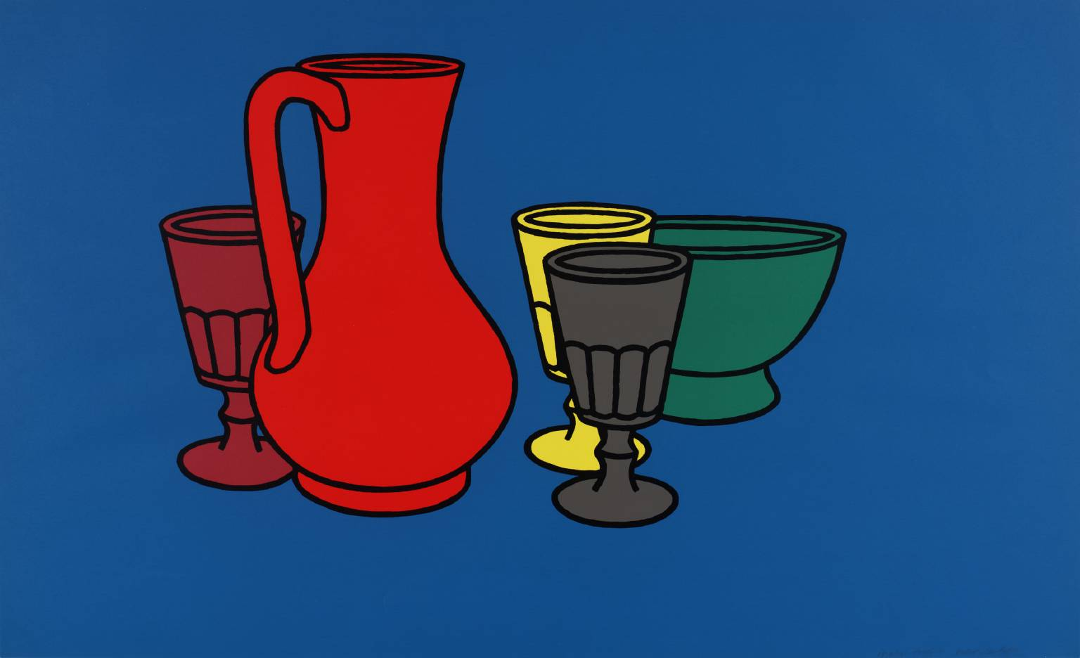 Patrick Caulfield ART amp ARTISTS Patrick Caulfield part 1