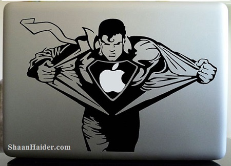 Superman MacBook Stickers and Decals