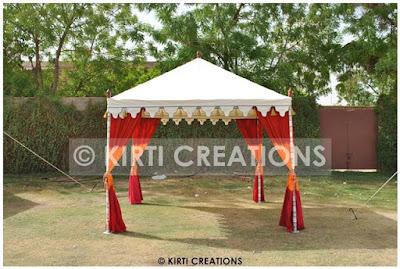 Aesthetic garden Tent