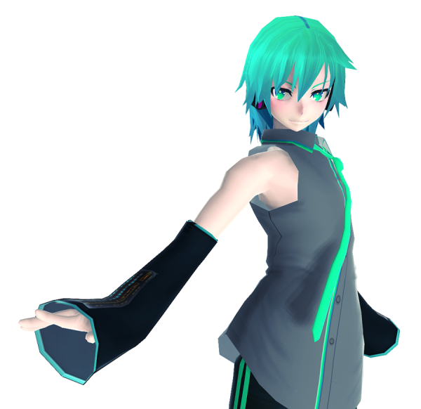 Mikuo in Motion