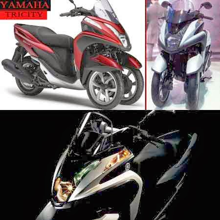 Gambar Yamaha Tricity