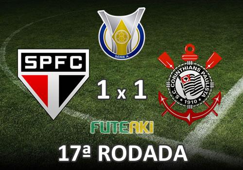 São Paulo 1x1 Corinthians pela 17ª Rodada do Brasileirão 2015