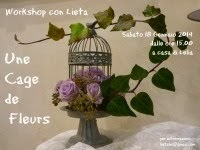 Workshop Una Cage de Fleurs