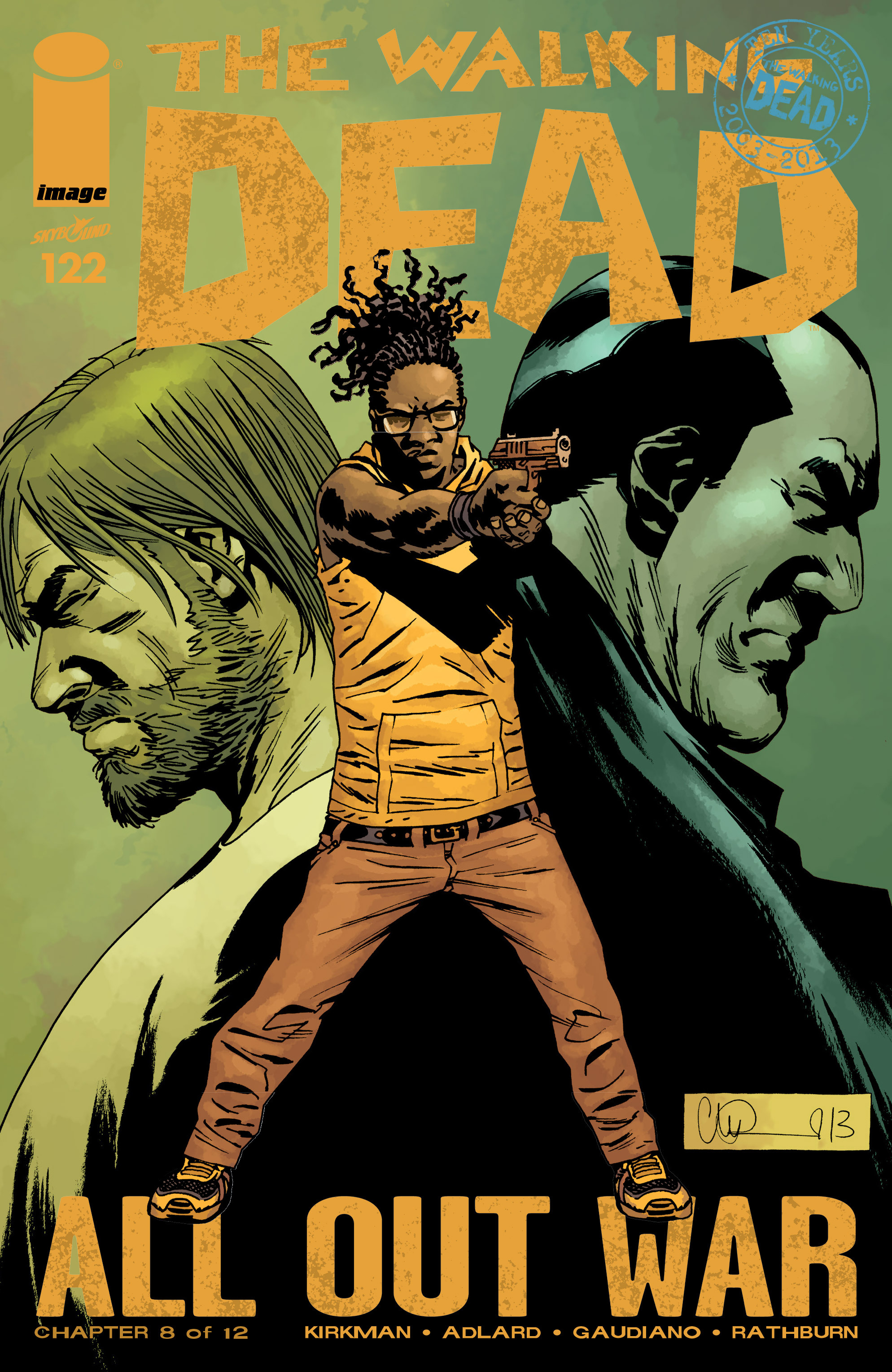The Walking Dead 122 Page 1