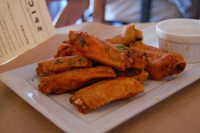 receta alitas pollo horno sin aceite