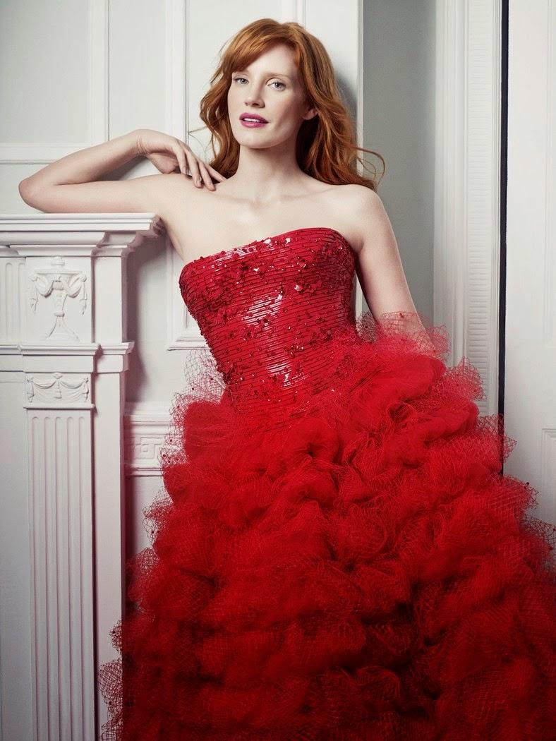 Jessica Chastain - Armani Privé.