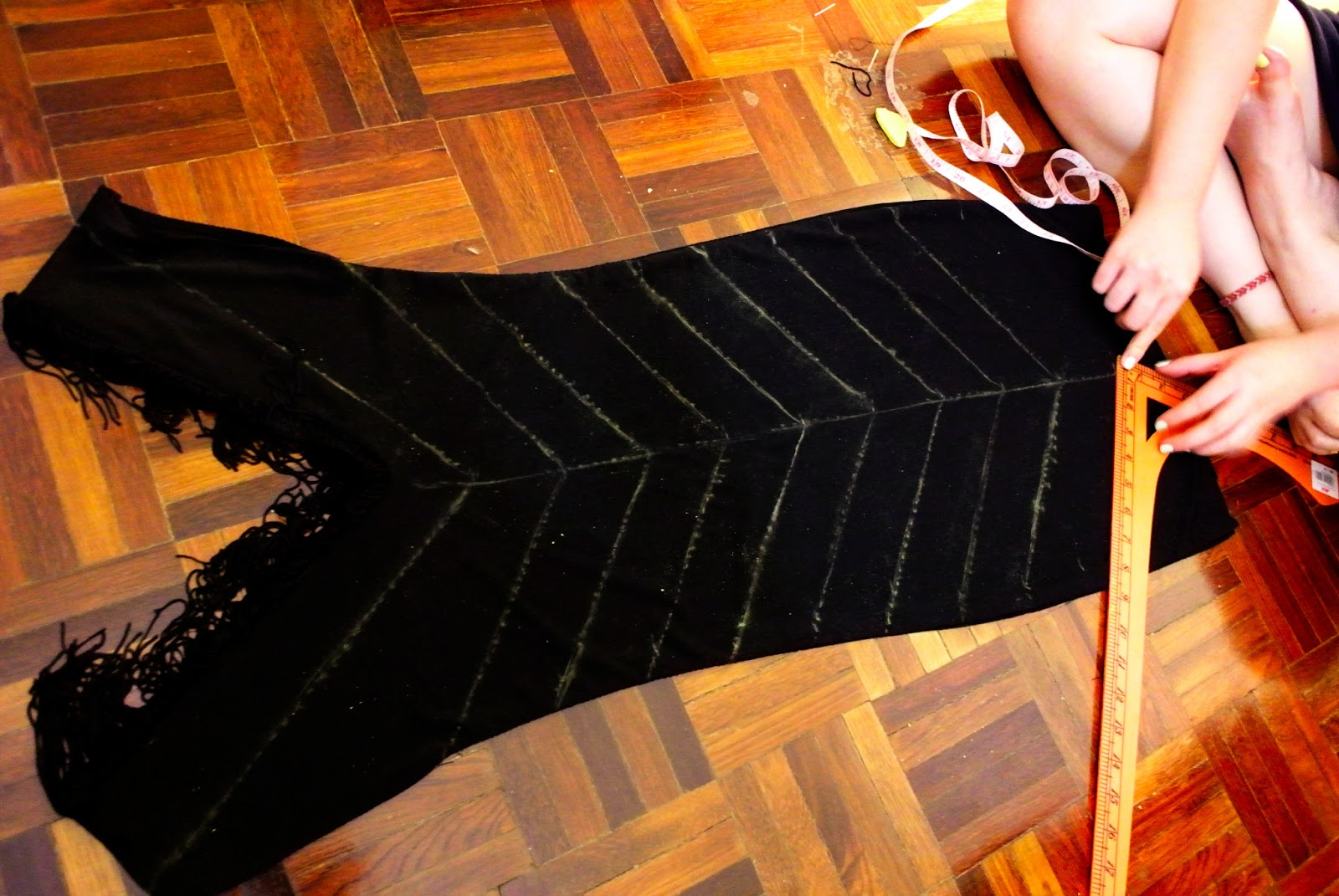 Jillian undercover tutorial quick and easy 1920s flapper dress solutioingenieria