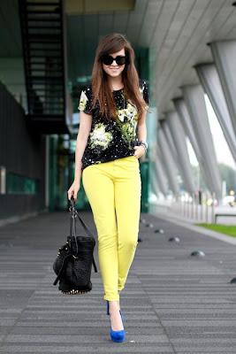 Moda Pantalones de colores