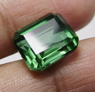 Batu Permata Green Quartz