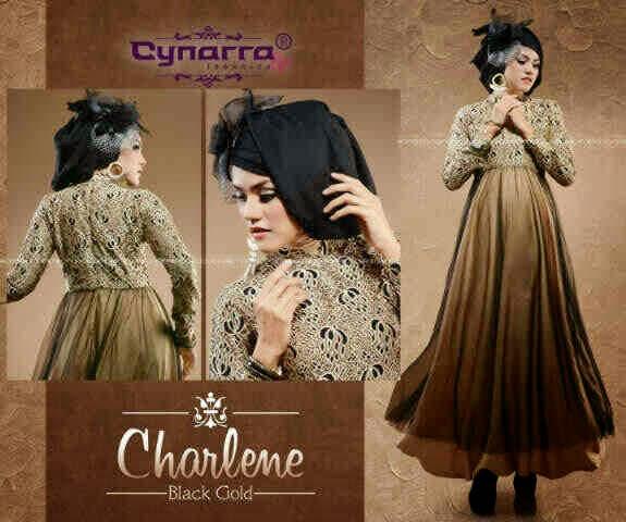 Busana Muslim Modern Tanah Abang  Charlene Party Dress By Cynarra