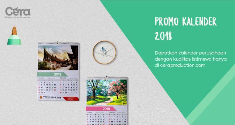 Harga Kalender Dinding 2018