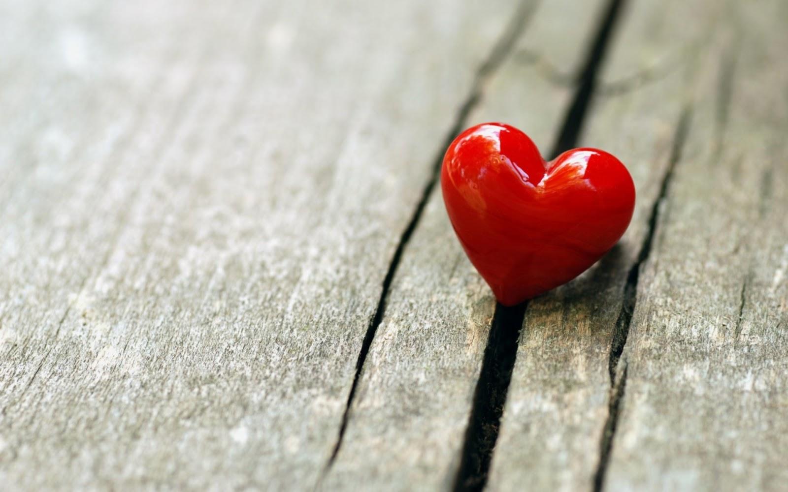 Single Valentine Heart