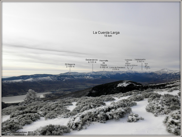 El Nevero - Montes Carpetanos
