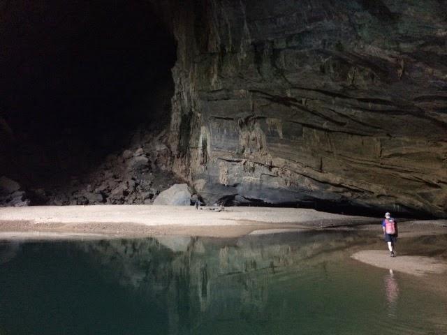 trekking Swallow cave 3