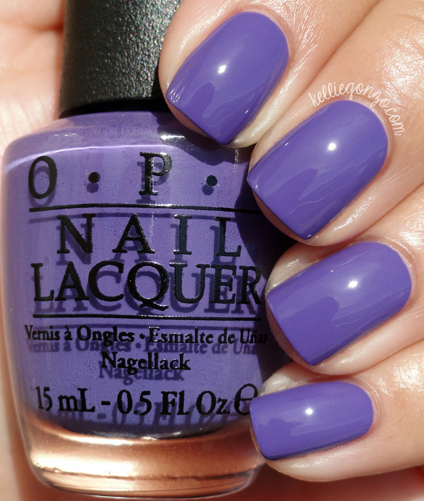 OPI Lost My Bikini In Molokini Hawaii Collection