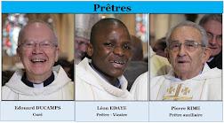 Les prêtres de la paroisse