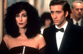 Film - Moonstruck - A hit romantic comedy starring Nicolas Cage and Cher (released in 1987)