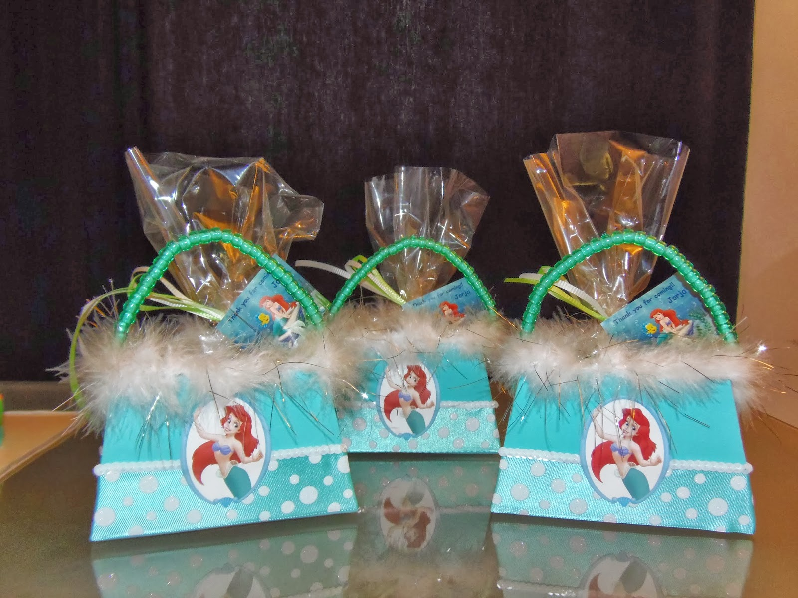 Dreams Factory Little Mermaid Goody Bags And Cake