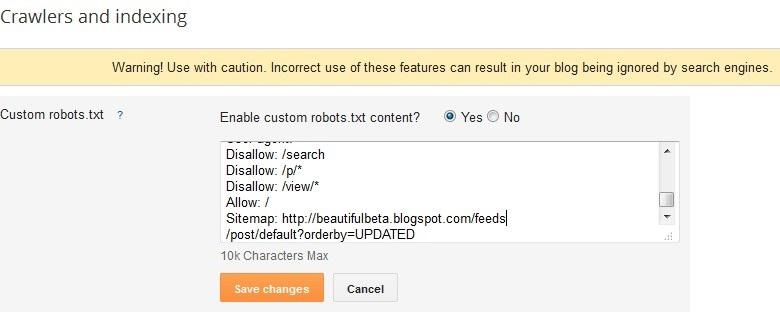thesis robots.txt