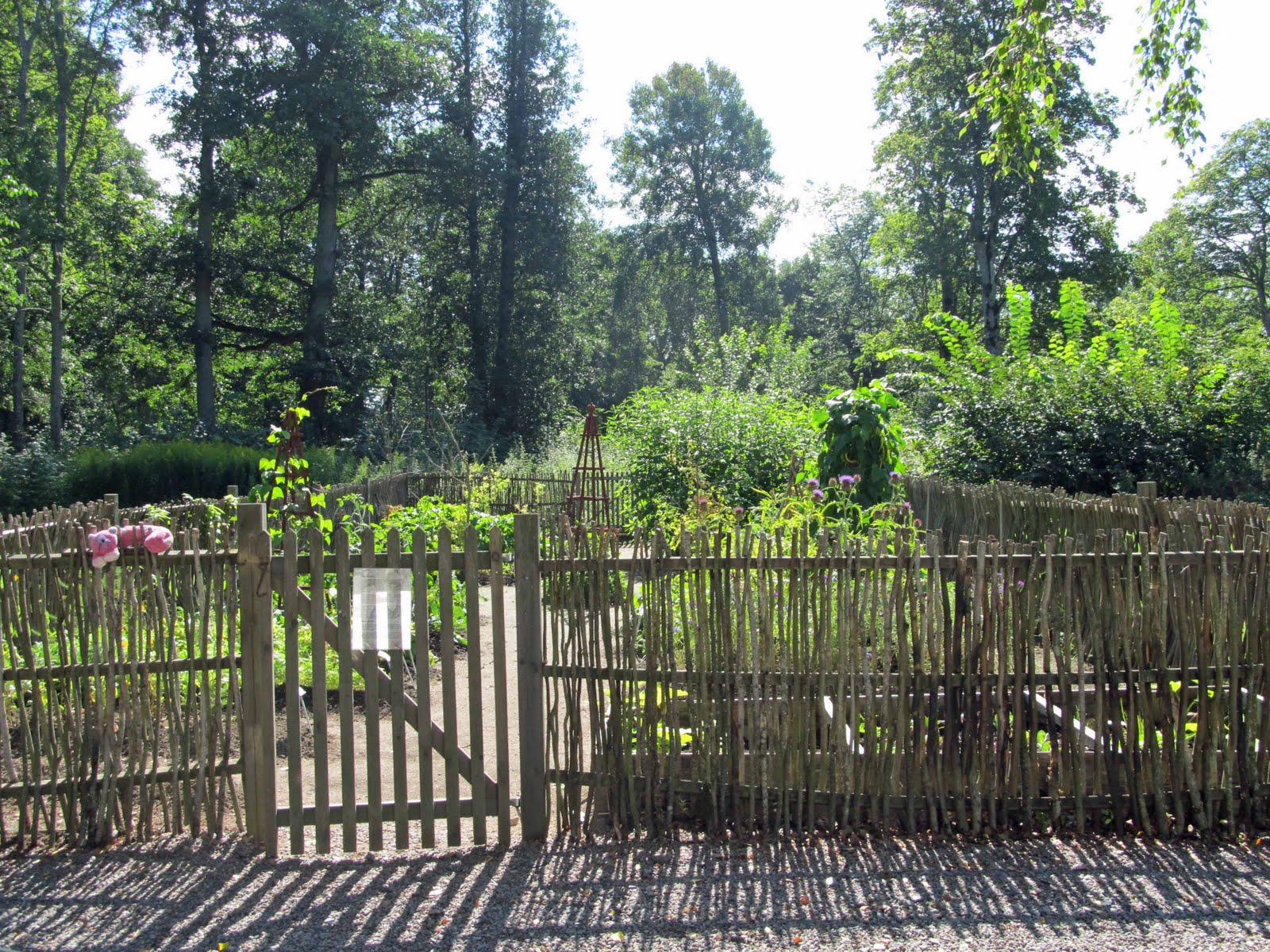 summit musings friday fences a swedish garden