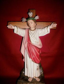 Imagen del Niño Jesús del Pichincha en su hogar
