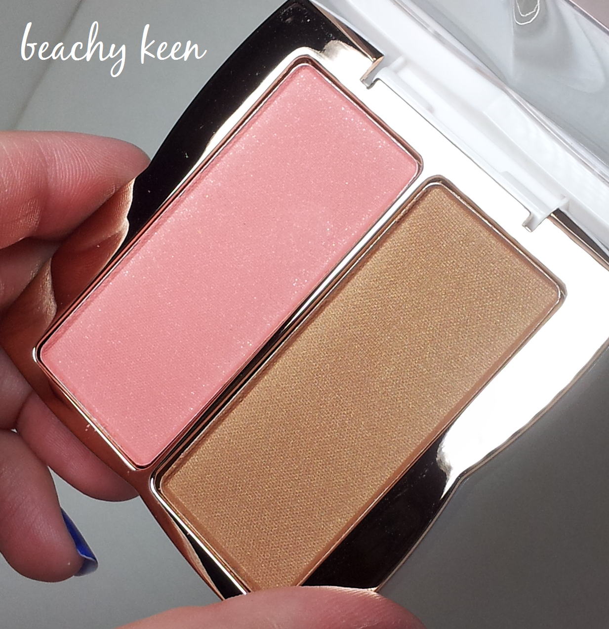 Lainamarie91 flower beauty glow baby glow blush bronze duo bd1 if you know me youd know i have been in love with the flower beauty blushbronzer in shimmering goddess and ive been wanting to pick up this shade in izmirmasajfo