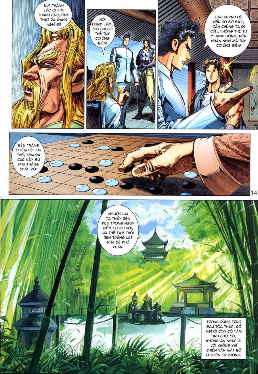 Tân Tác Long Hổ Môn chap 294 - Trang 14