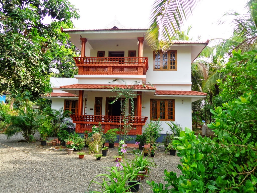 Our dream home at kerala god 39 s own country for Kerala dream home photos