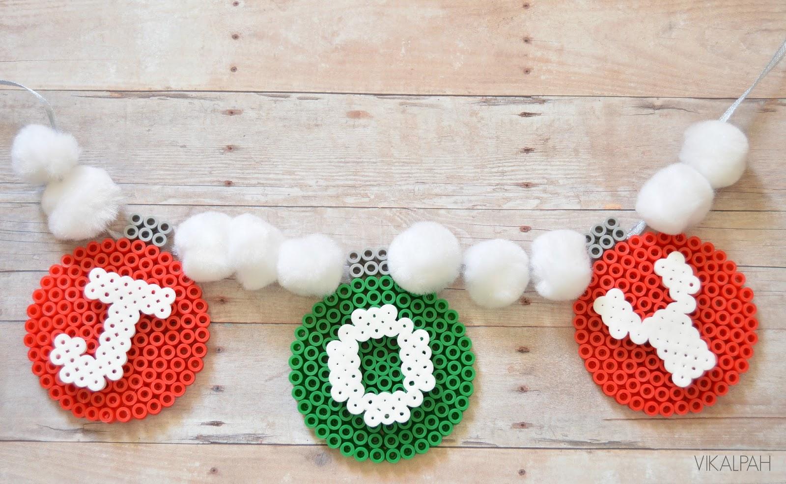 Christmas Garland Beads
