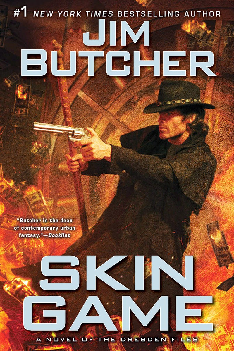 Book Review: Skin Game (Dresden Files, Book 15) by Jim Butcher