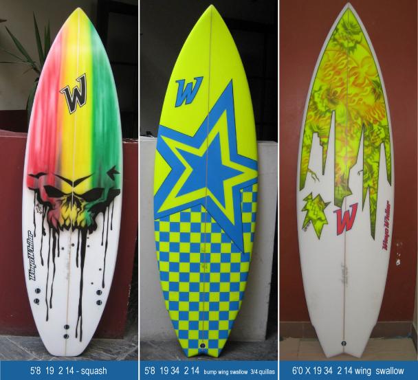 Wayo whilar surfboards surfboard shaper tablas de surf - Tablas de surf personalizadas ...