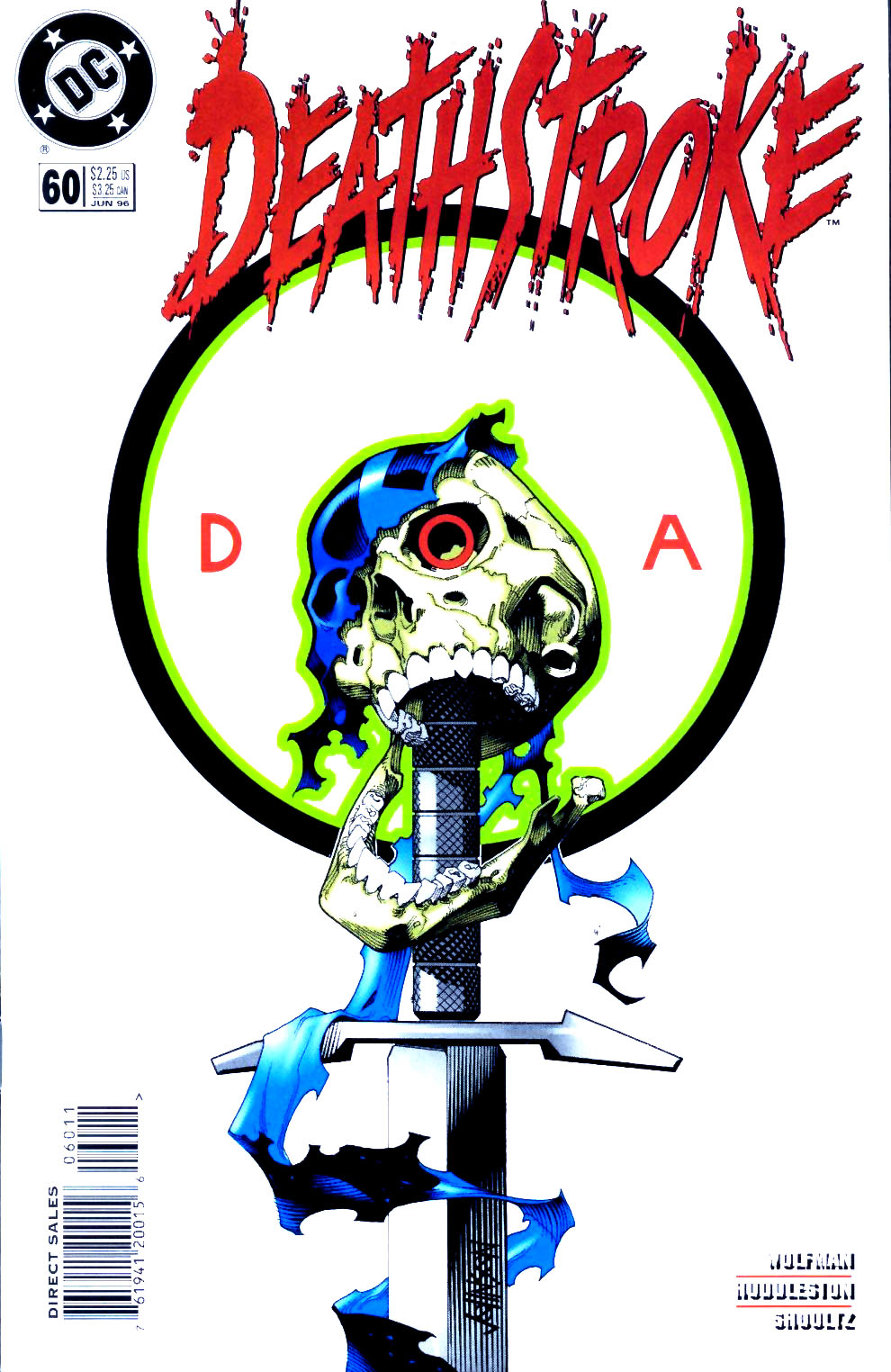 Deathstroke (1991) Issue #60 #65 - English 1