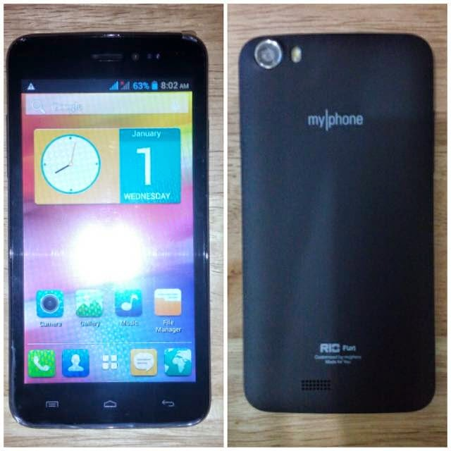 MyPhone Rio Fun, 5-inch Dual Core Android Phablet for Php2,999