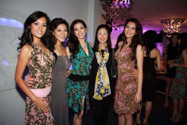 Photos of Miss Singapore Universe 2011 contestants