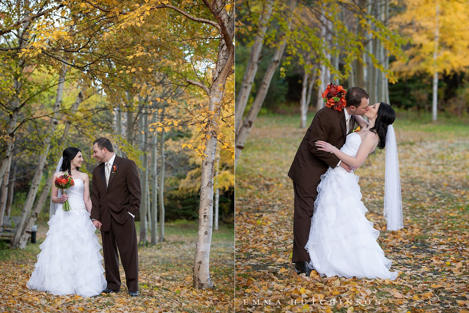 Lewsiporte, Newfoundland - fall wedding photography by Emma Hutchinson