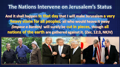 PART ONE: Jerusalem a Burden to the Nations