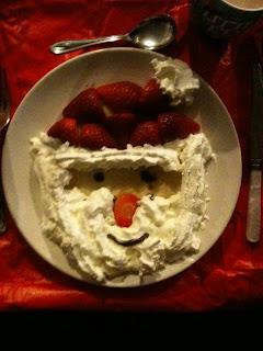 Father Christmas pancakes