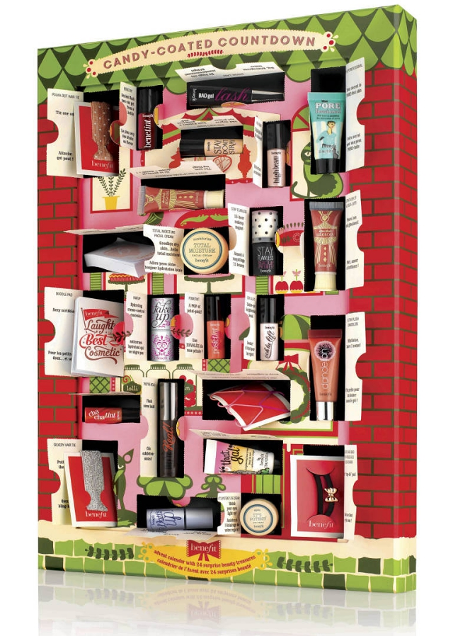 Benefit beauty advent calendar candy-coated countdown 2014