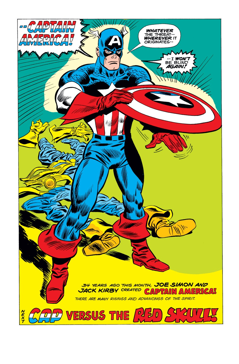 Captain America (1968) Issue #183 #97 - English 19