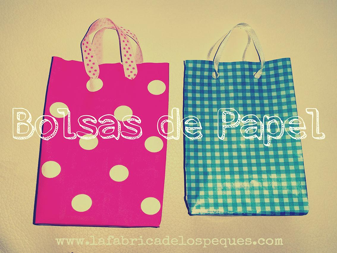 La f brica de los peques c mo hacer bolsas de papel - Hacer bolsas de papel en casa ...