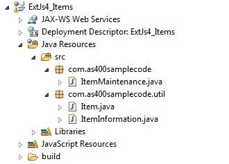 ExtJs 4 MVC Architecture tutorial using Java Servlets