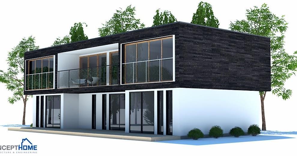 Plantas de casas modernas planta de casa moderna ch195 for Casa moderna 2014 espositori