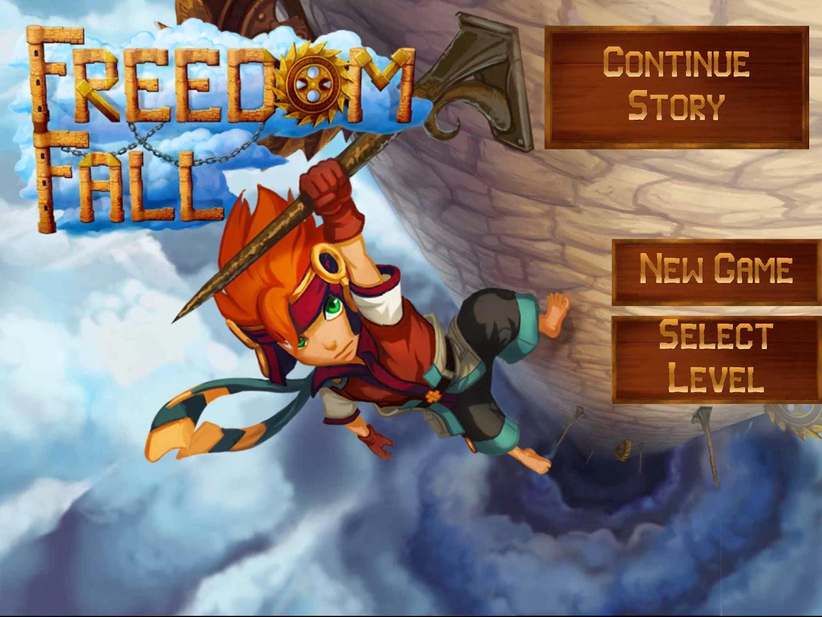Freedom Fall, juego de plataformas
